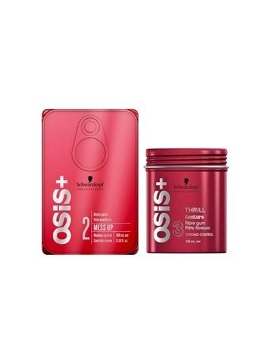Osis Mess Up Wax 100 ml + Thrill Wax 100 ml Renksiz